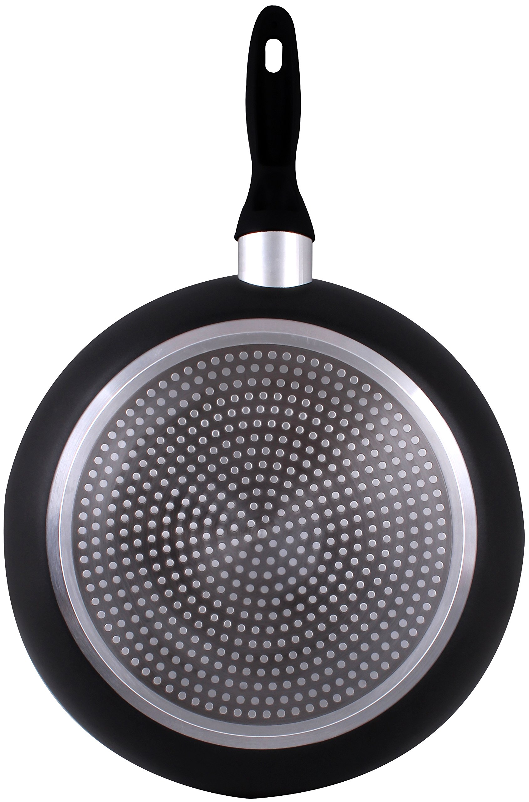 Induction Bottom Aluminum Nonstick Frying-Pan Grey Fry Pan - 11 inches Dishwasher Safe Cookware - by Utopia Kitchen by Utopia Kitchen (Image #5)