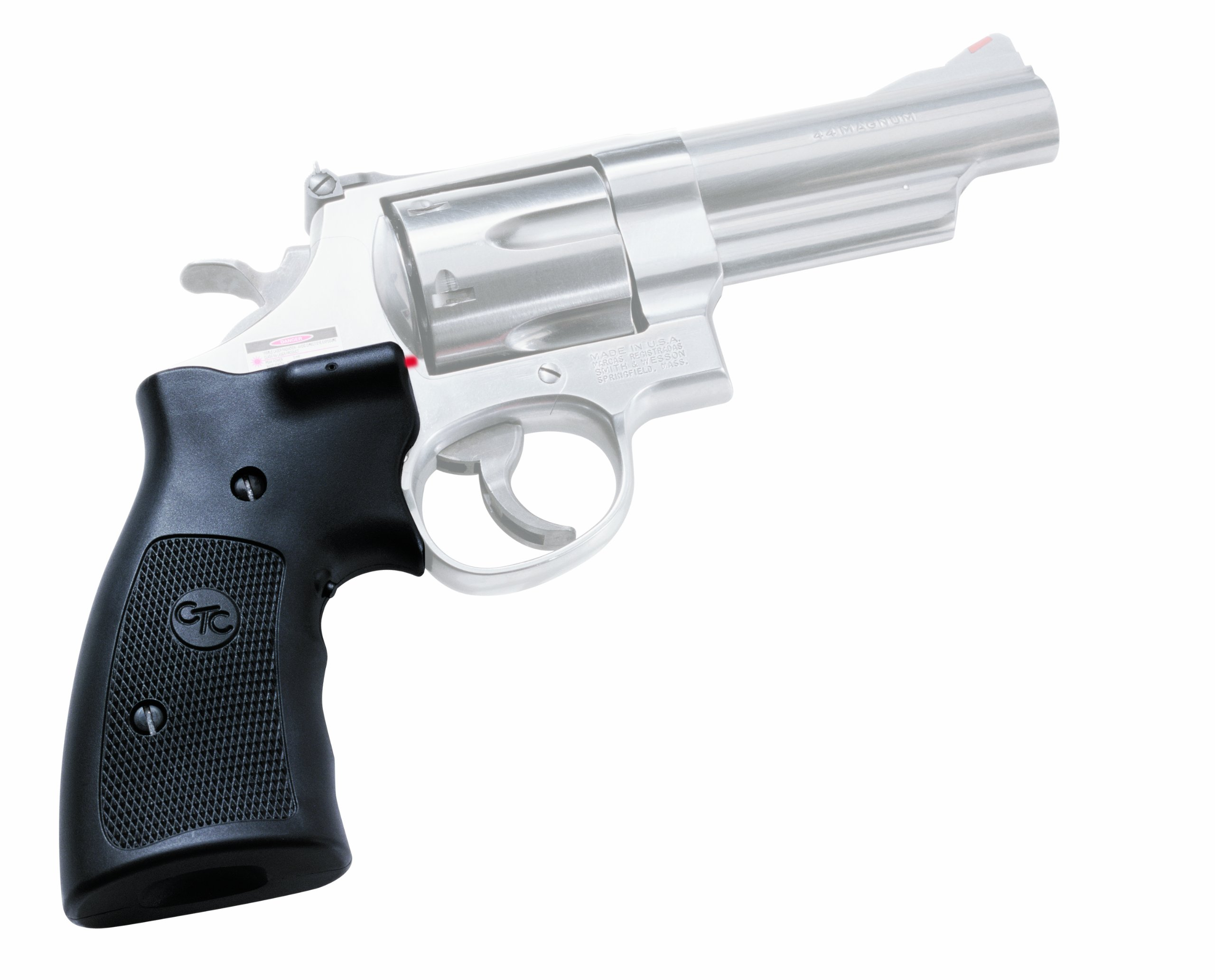 Crimson Trace LG-207 Lasergrips Red Laser Sight Grips for Smith & Wesson K. L and N Frame Revolvers