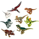 Pixnor Dinosaure les blocs de construction (lot de 8)