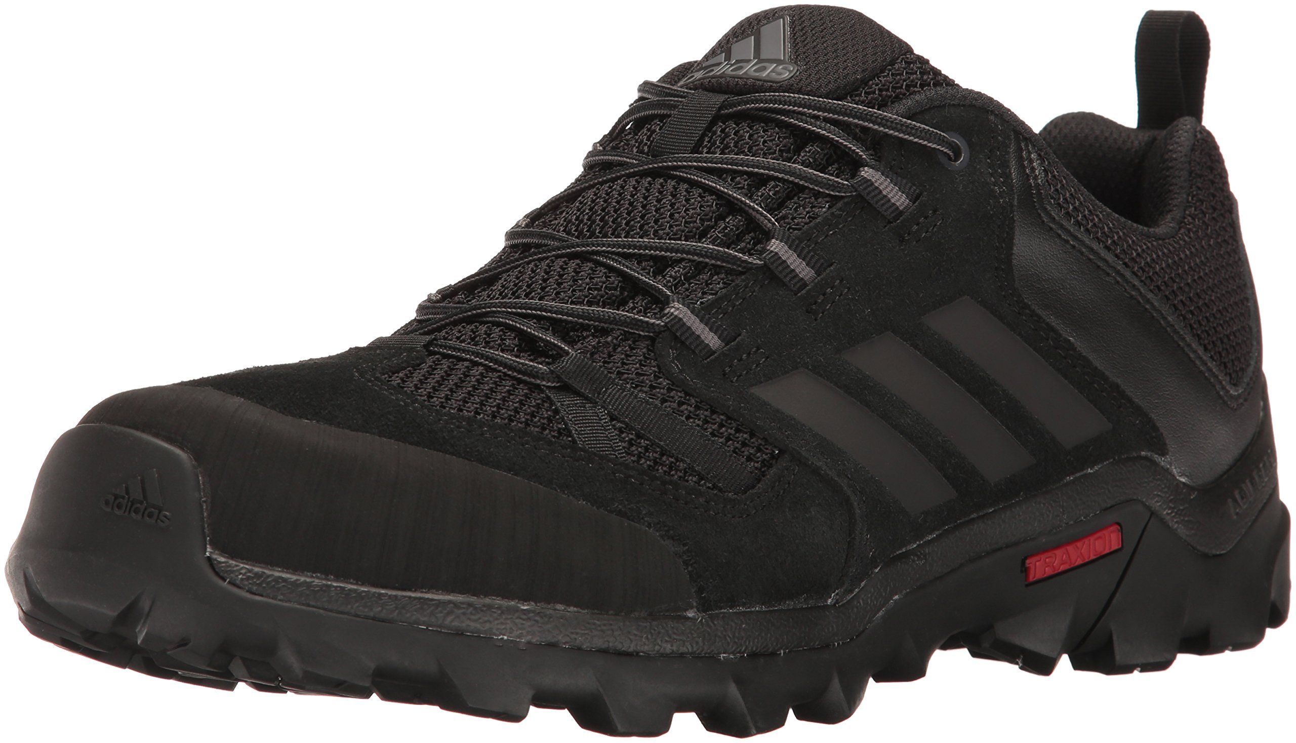 adidas outdoor Men's Caprock Hiking Shoe, Black/Granite/Night Met, 10.5 M US