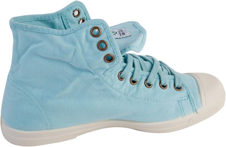 Natural World Damen Bota vegane Sneaker High Blau