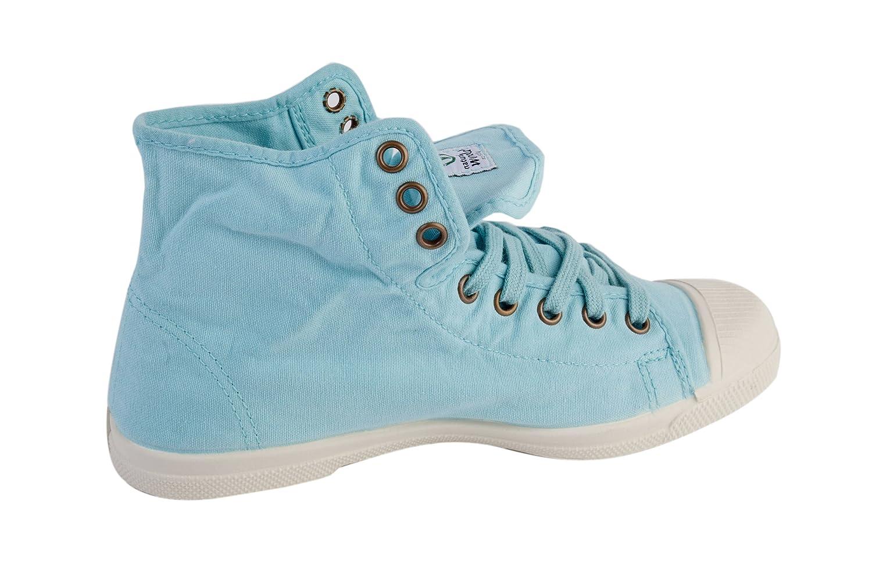 Damen Bota vegane Sneaker High Blau Gr. 42 Natural World G6E1GzMQ