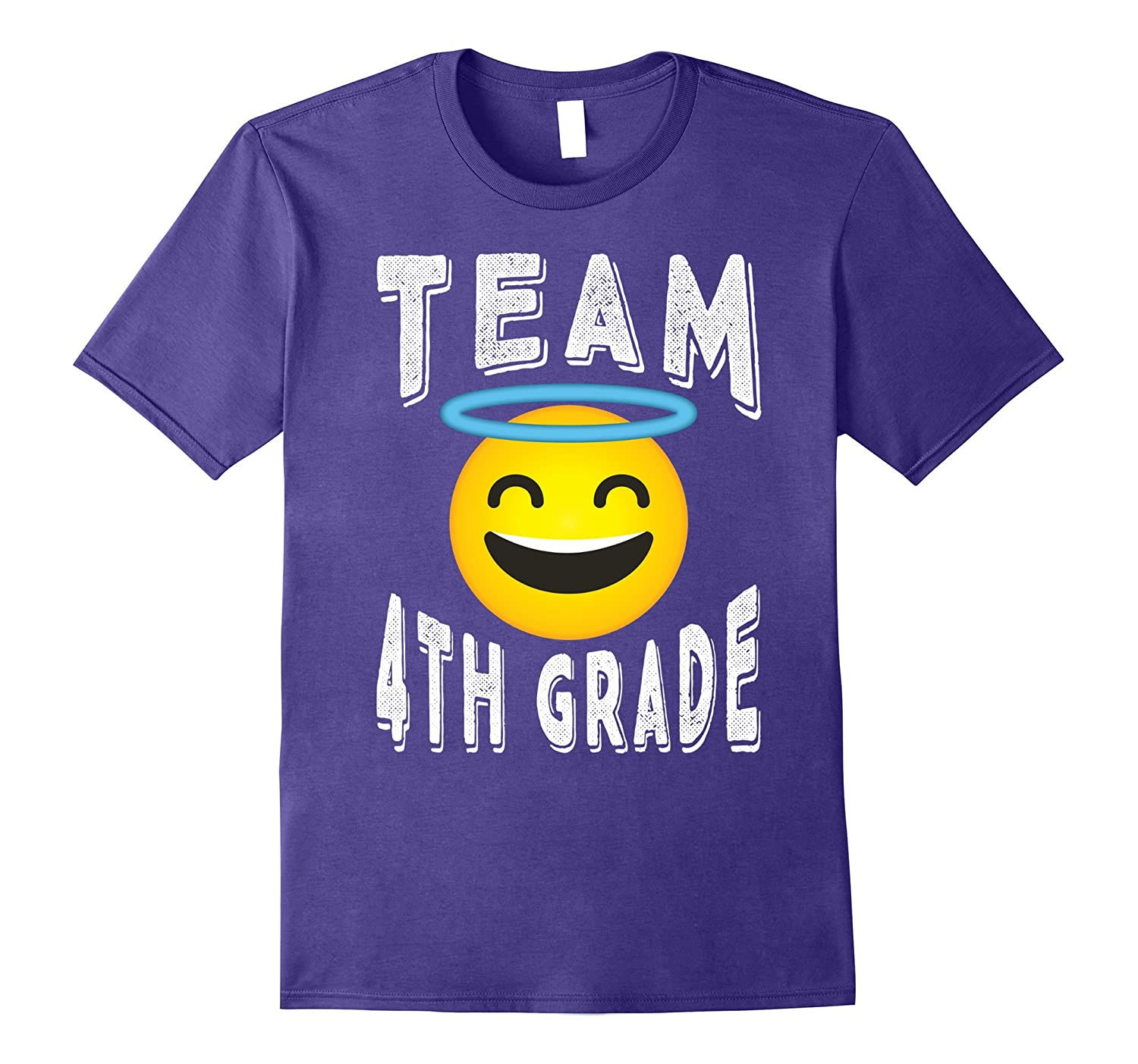4th Grade Teacher Shirt - Emoji Team 4th Grade T-shirt-Rose
