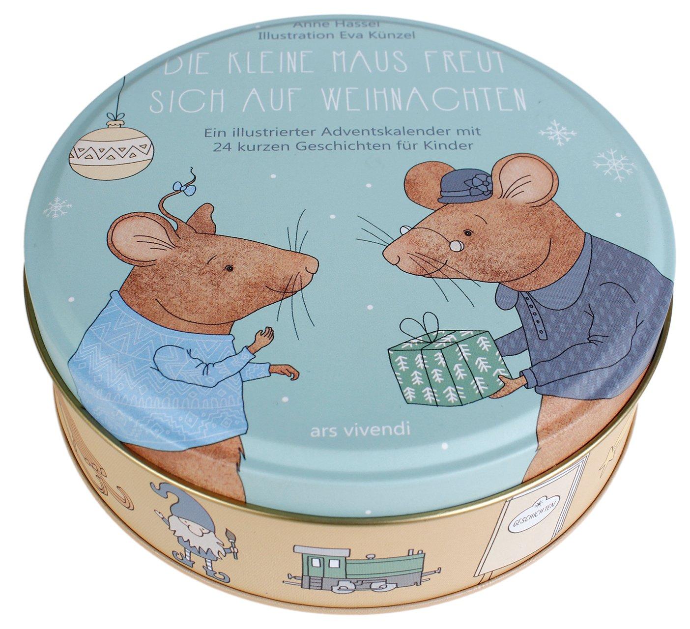 Adventskalender Die kleine Maus freut sich auf Weihnachten 2017: 24 kurze Geschichten für Kinder ab drei Jahren