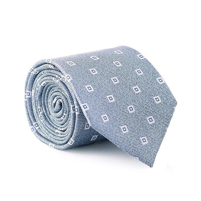 GENTSY Conjunto de corbata y pañuelo para hombre - K106/P35 ...