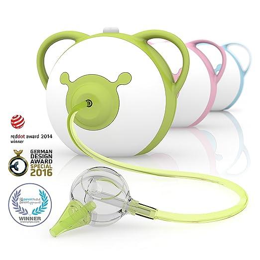 125 opinioni per Nosiboo Aspiratore nasale adatto per bambini (elettrico, verde)- Un regalo