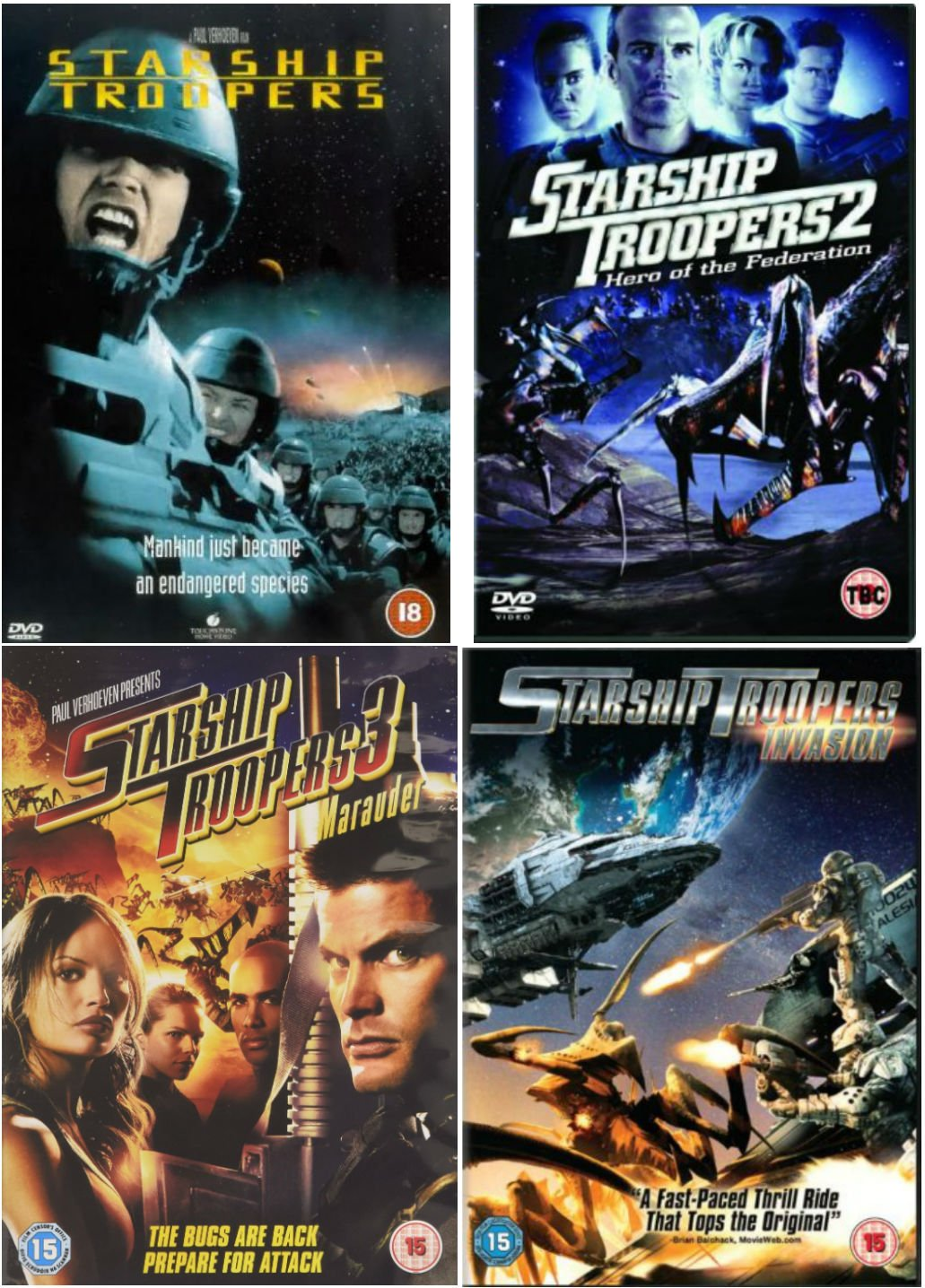 Starship Troopers - Quadrilogy • FUNXD.site