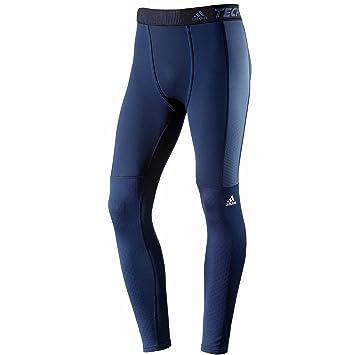 9fc4e81d7226c adidas Men's Techfit Clima Heat Fitted Tights, dark blue: Amazon.co ...