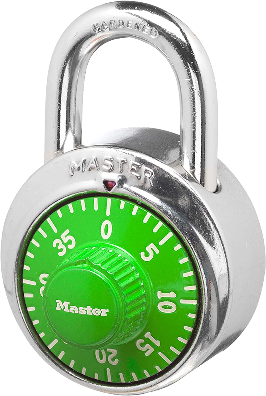 Candado Master Lock Combinacion Tipo Caja Fuerte verde