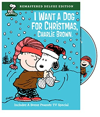 peanuts i want a dog for christmas charlie brown deluxe edition - Peanuts Christmas