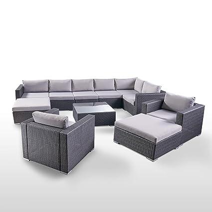 Amazon.com: Great Deal Furniture 304755 Tom Rosa Outdoor 8 ...