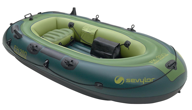 Sevylor Schlauchboot Fish Hunter FH250 ideal zum Angeln aufblasbares Boot