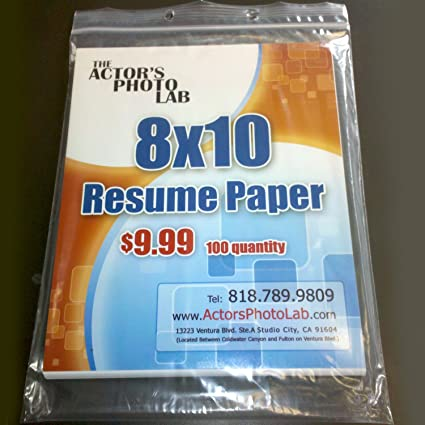 amazon com 8x10 resume paper 100 sheets multipurpose paper