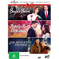 Hallmark Christmas 3 Film Collection (Santa's Secret aka Christmas at Cartwright's/Family for Christmas/The Mistletoe…