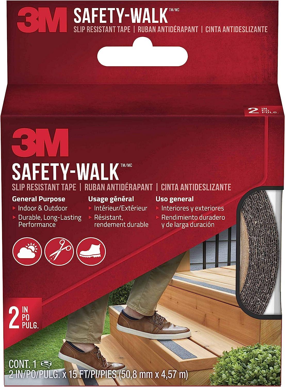 "Black 3m Safety-Walk General Purpose Slip Resistant Tape 1 /"" X 180/"" Roll"