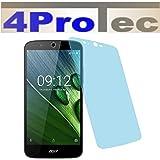 2x ANTIREFLEX matt Schutzfolie für Acer Liquid Zest Plus Premium Displayschutzfolie Bildschirmschutzfolie Schutzhülle Displayschutz Displayfolie Folie
