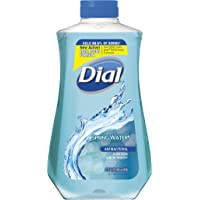Dial Antibacterial Liquid Hand Soap Refill, Spring Water, 32 Fluid Ounces