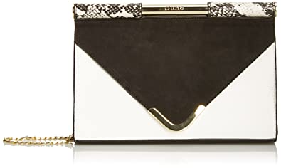 465df0f1778 Dune Women's Barrio Clutch Black/White: Amazon.co.uk: Shoes & Bags