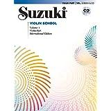 Suzuki Violin School, Volume 1: Violin Part (Book & CD)