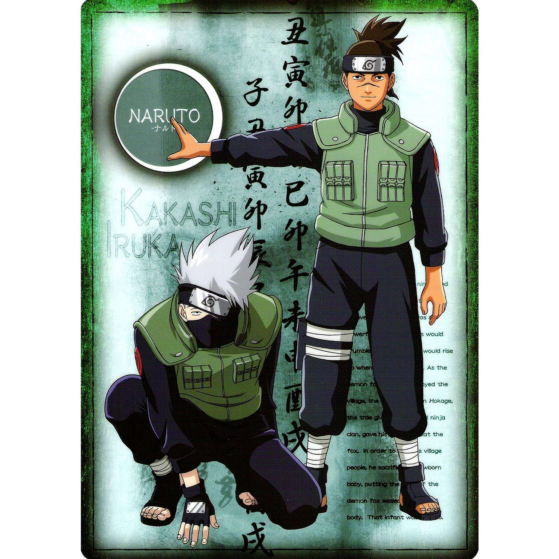Fabulous Poster Cartel Naruto Sensei Kakashi Sensei Iruka ...