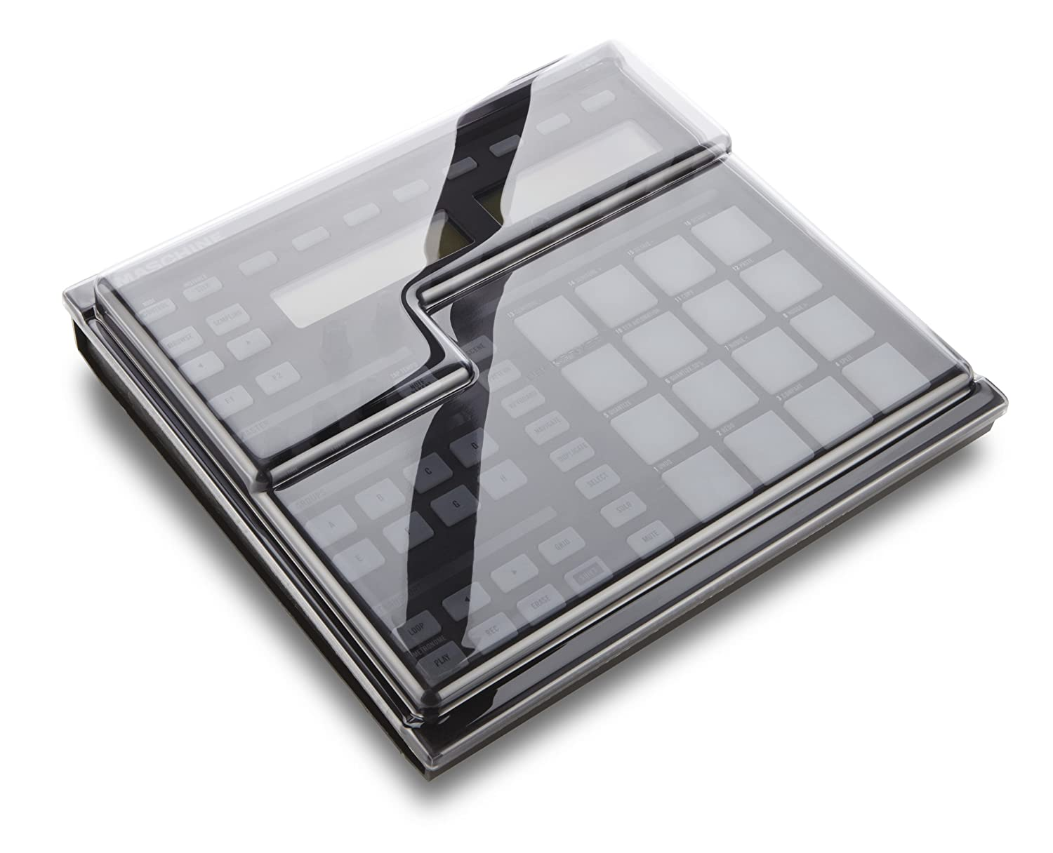 Decksaver NI Maschine Polycarbonate Cover DJ Mixer Case (DS-PC-MASCHINE)