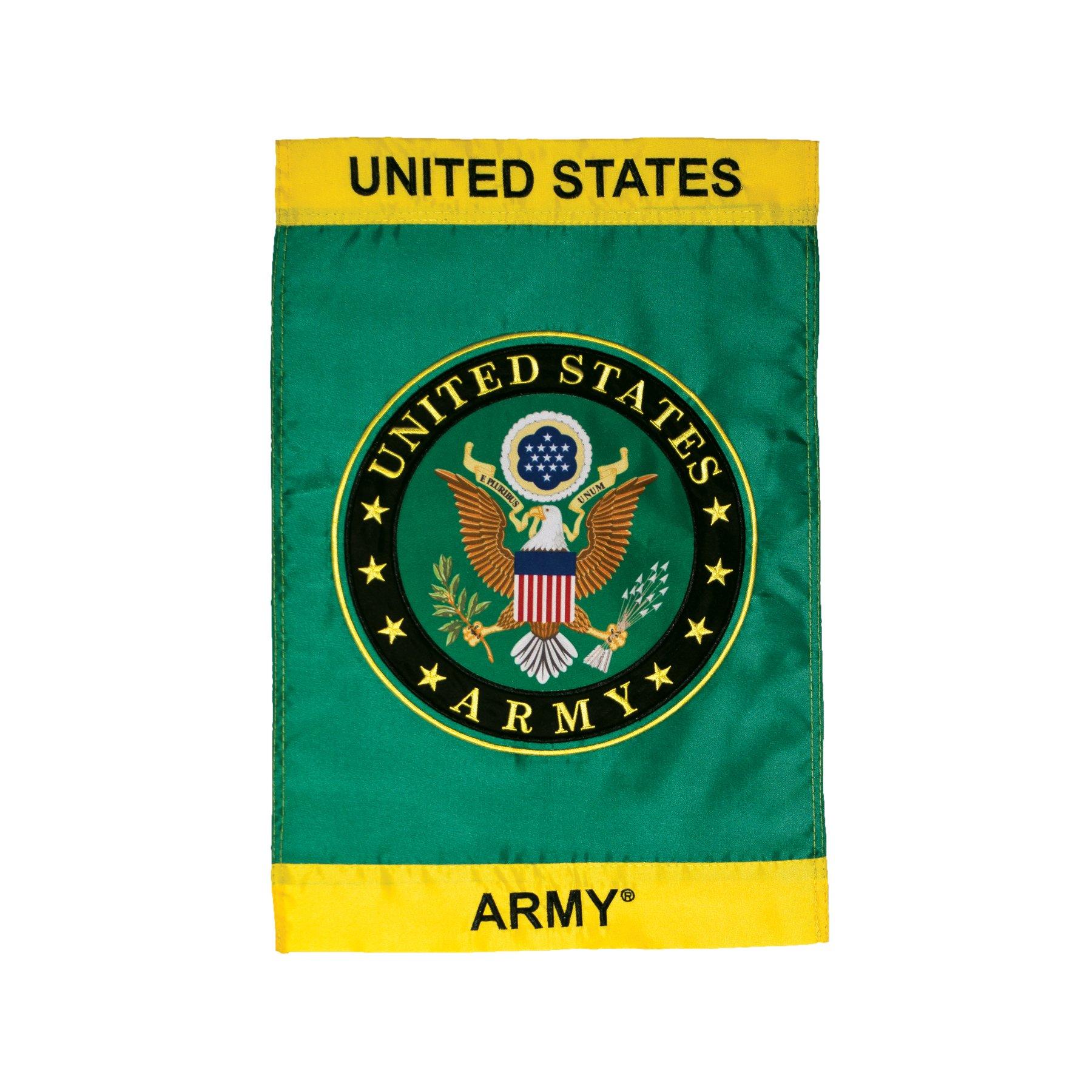 In the Breeze U.S. Army Symbol Garden Flag