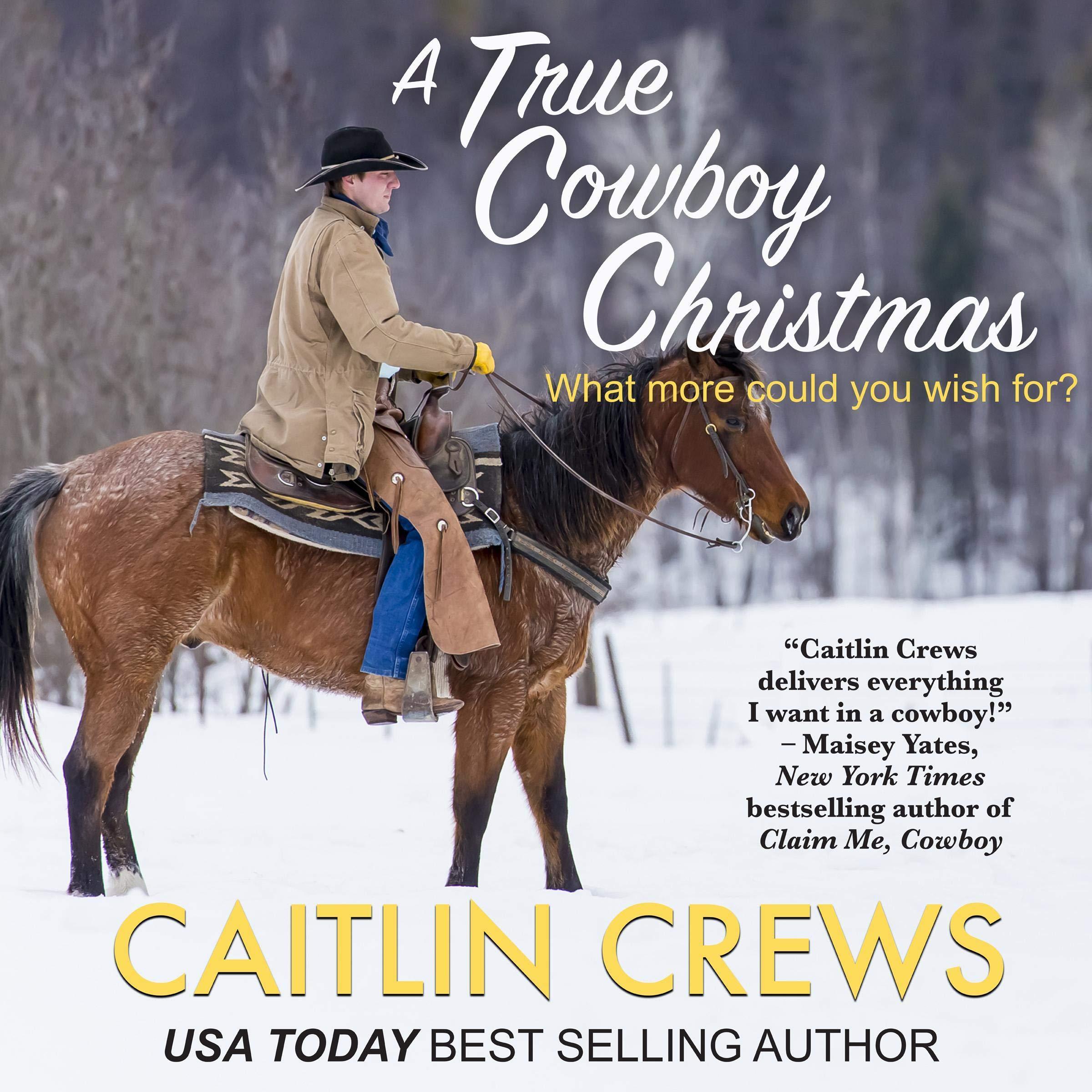 A True Cowboy Christmas  Cold River Ranch Book 1