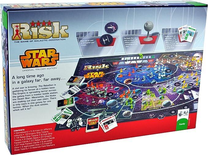 Risk Star Wars - Juego de estrategia [Importado]: Amazon.es: Juguetes y juegos