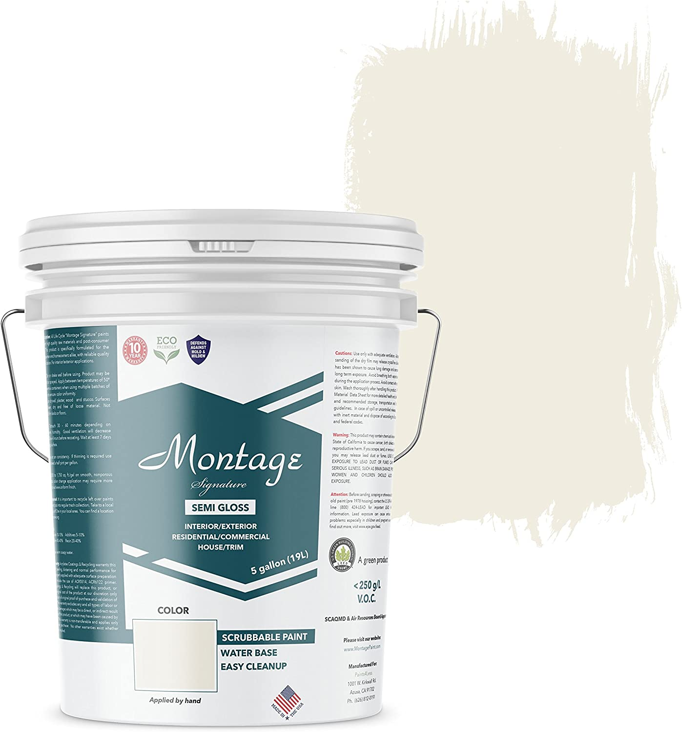 best trim color for white walls - Montage