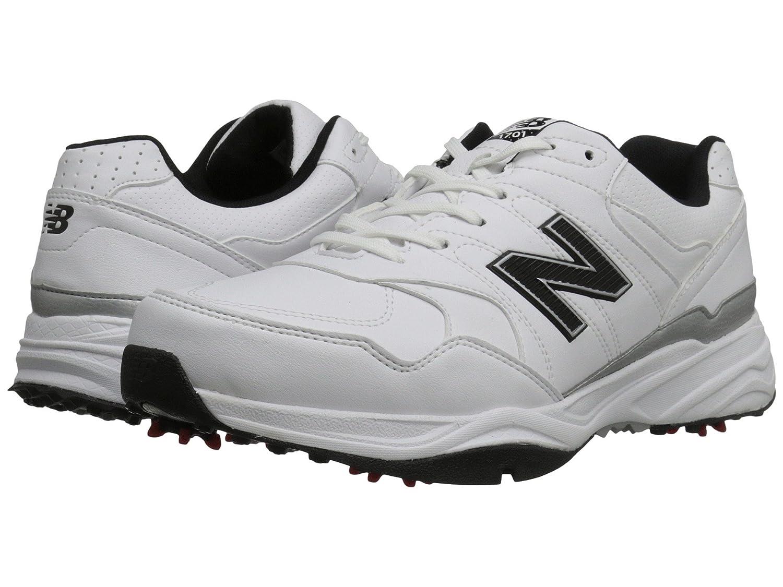 (ニューバランス) New Balance メンズゴルフシューズ靴 NBG1701 White/Black 15 (33.cm) D - Medium   B0788VB74Y