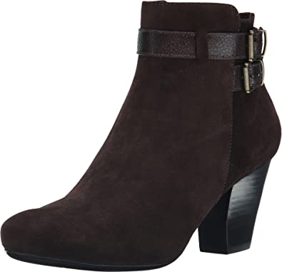 Vaneli Women's Jill Tmoro Nival Suede/Brown Nevada Boot 8.5 M ...