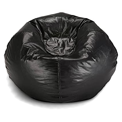 Marvelous Bean Bag Chair Medium Standard Vinyl Cozy Comfort For Kids And Teens Bedroom Living Room Accessories Home Collection Great For Reading Playing Video Bralicious Painted Fabric Chair Ideas Braliciousco