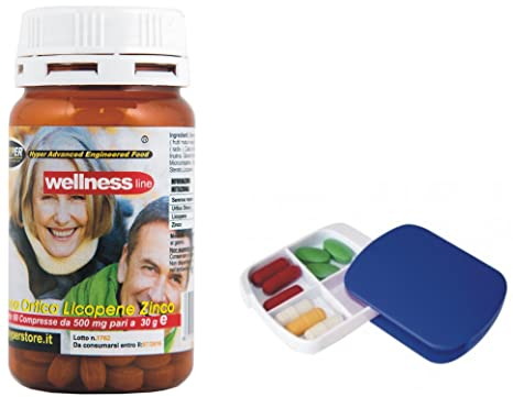 Suplementos Próstata Salud Bienestar con píldoras 60 Tabletas Formulación con Serenoa Repens (Saw palmetto)
