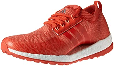57b85a558 adidas Women s W Pure Boost xG Golf Shoe CHALKCORAL Real Coral S18
