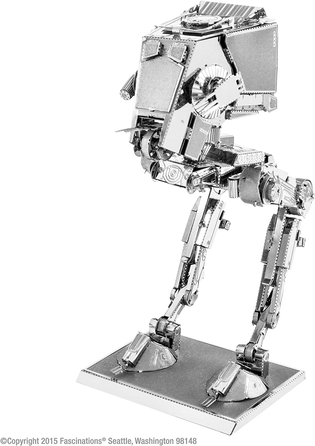 Star Wars-Maqueta de Metal 3D R2-D2, Color Plateado Earth MMS250 ...