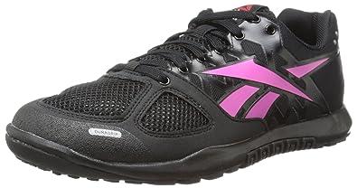 Reebok Women's Crossfit Nano 2.0 Training Shoe, Black/Dynamic Pink, ...