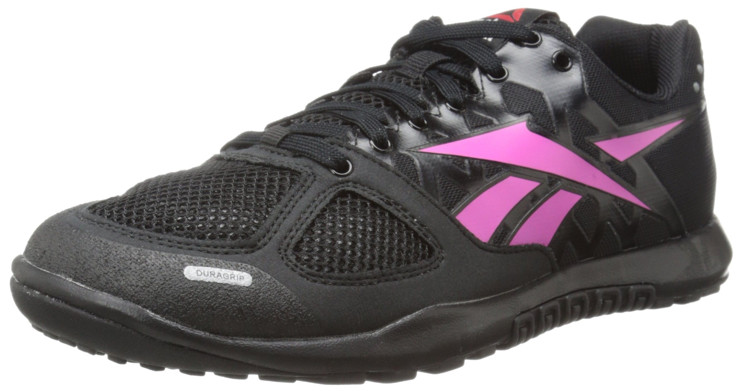 Reebok Women's Crossfit Nano 2.0 Training Shoe, Black/Dynamic Pink, 5 M US
