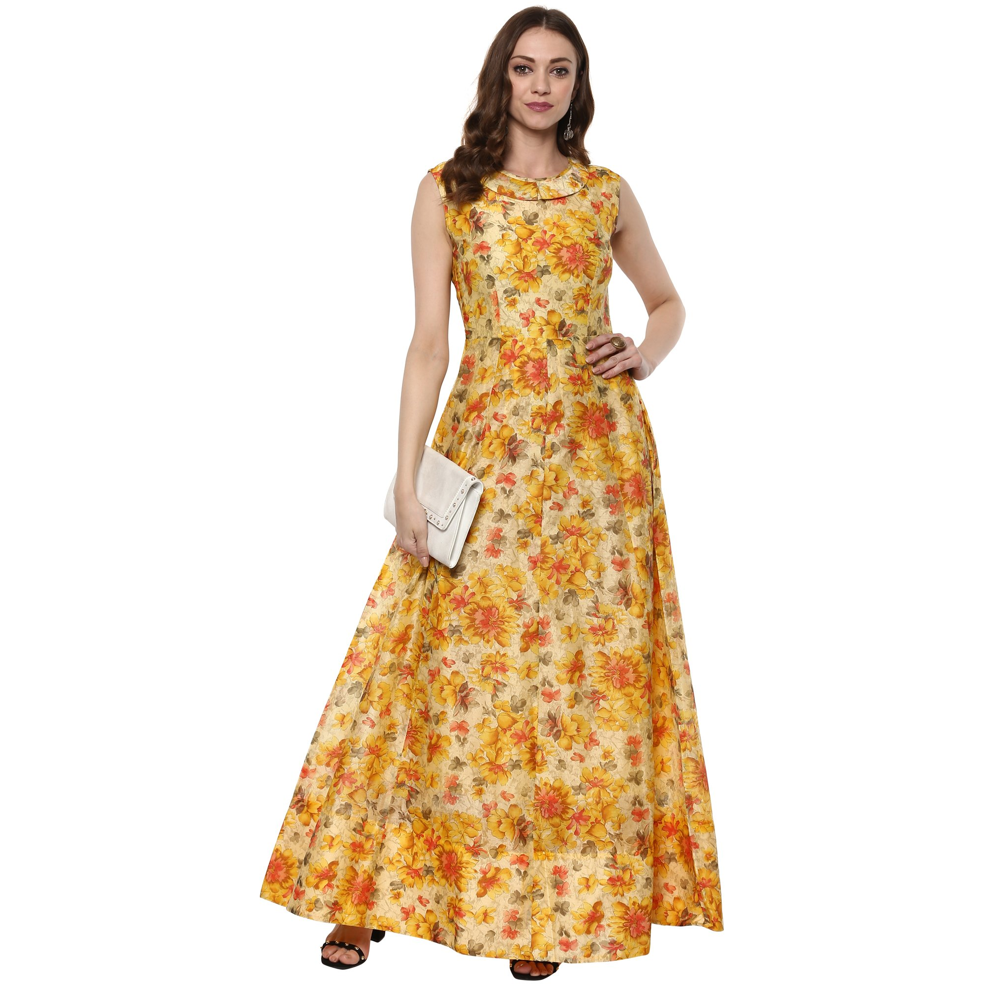 6aea17f866 Galleon - Indian Virasat Kurtis Ethnic Women Kurta Kurti Tunic  Multicolouredl Print Top Dress New Casual Wear