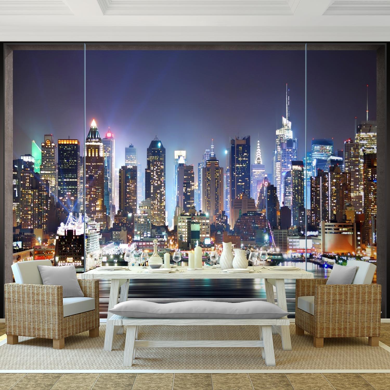 Tapisserie Photo New York 308 x 220 cm Laine papier peint Salon Chambre Bureau Couloir d/écoration Peinture murale d/écor mural moderne 100/% FABRIQU/É EN ALLEMAGNE 9026010b