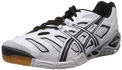 ASICS GEL SENSEI 4 maille Chaussures de tennis en en maille 19119 argentée blanche et noire 813867d - sbsgrp.website