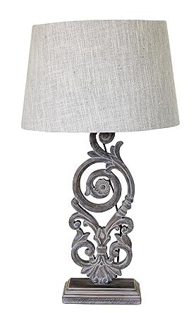 Lampada Da Tavolo Shabby Chic Amazon It Illuminazione