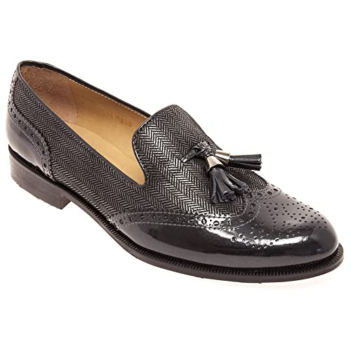 HB Shoes - Mocasines para mujer plateado plata, color plateado, talla 39: Amazon.es: Zapatos y complementos