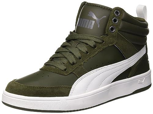 Puma Puma Rebound Street Fur, Baskets hautes mixte adulte