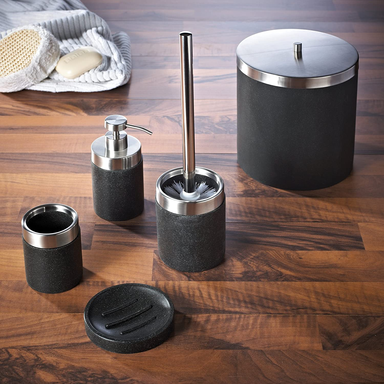 Amazon.com: Ridder Stone 22010510 Soap Dispenser Black by Ridder: Kitchen & Dining