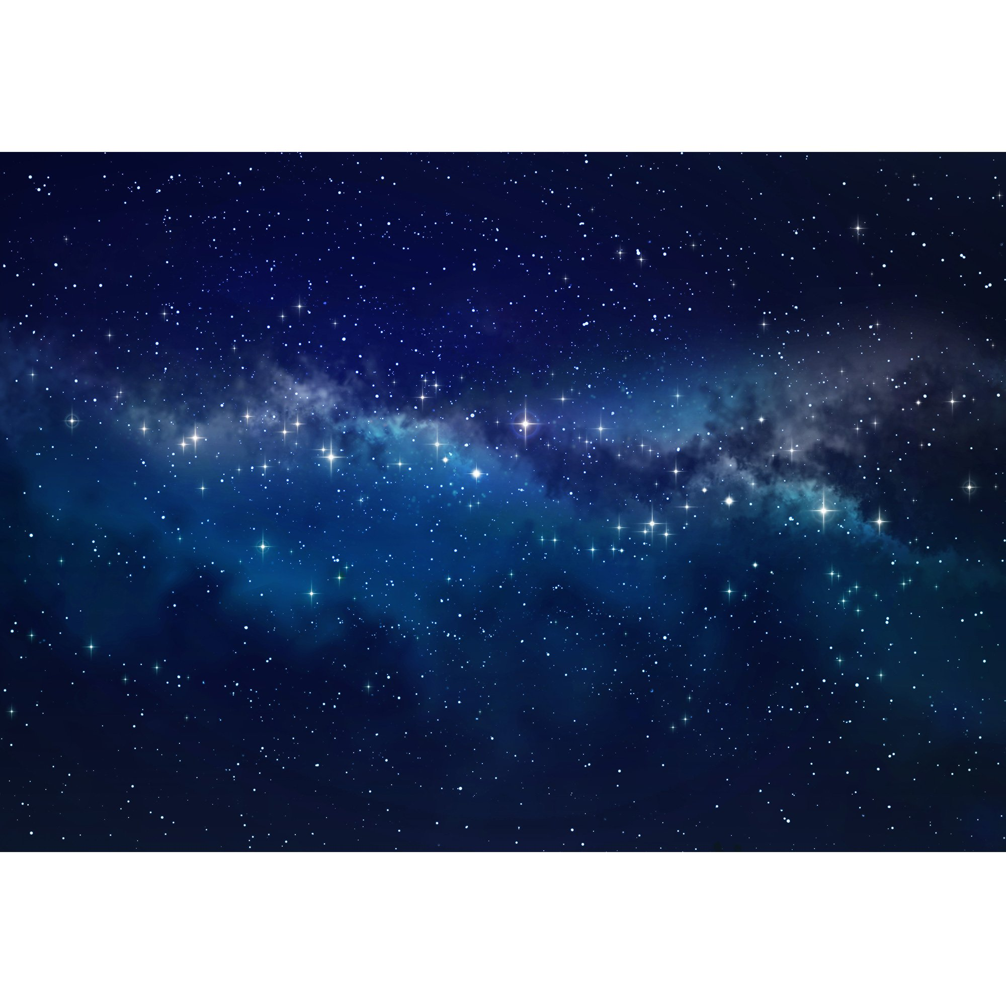 wall26 - Deep Space. High Definition Star Field Background - Removable Wall Mural | Self-Adhesive Large Wallpaper - 100x144 inches by wall26 (Image #2)