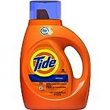 Tide Laundry Detergent Liquid (Laundry Soap), HE Turbo Clean, Original Scent, 25 loads