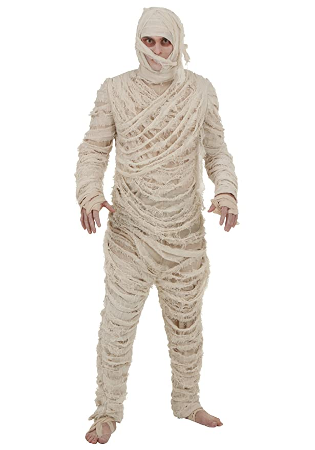 1930s Men's Costumes: Gangster, Clyde Barrow, Mummy, Dracula, Frankenstein  mens Mens Mummy Costume $49.99 AT vintagedancer.com