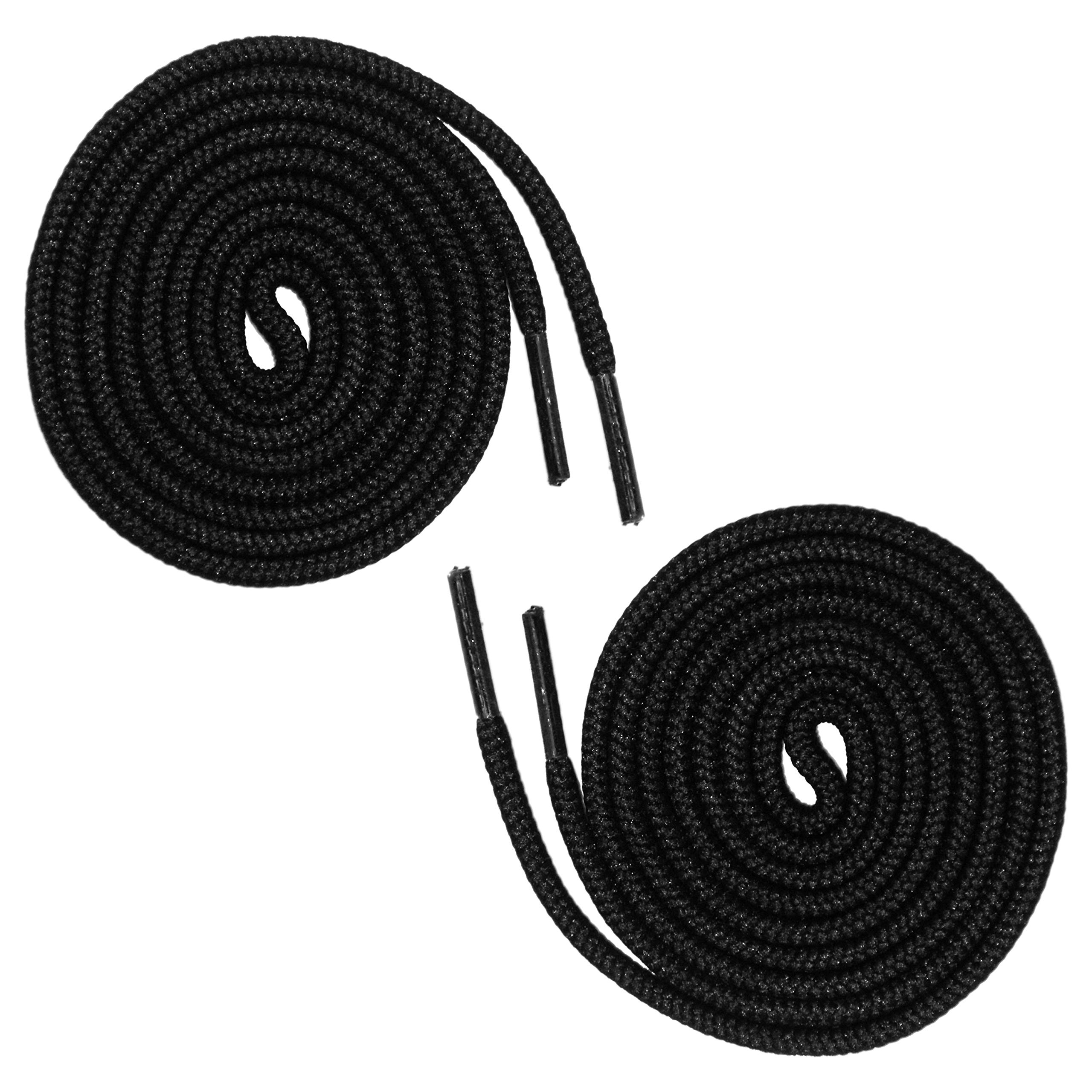 Round Shoelaces Wholesale - 144 (12 Dozen) for Sneakers, Boots and Shoes - Buy Wholesale Shoestrings in Bulk by Shoe String King (Image #1)