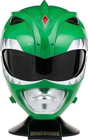 Cabra George Hanbury Inadecuado  Power Rangers Mighty Morphin Legacy Ranger Helmet, Green: Amazon.com.mx:  Juegos y juguetes