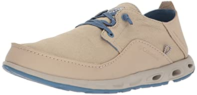 d98cf46425f Columbia PFG Men's Bahama Vent Relaxed PFG Boat Shoe, Ancient Fossil,  Steel, ...